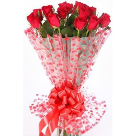 12-pcs. Roses Bunch