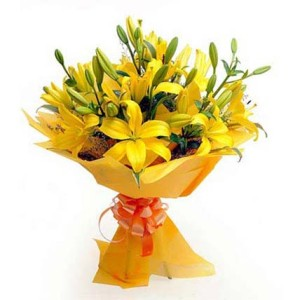 LIlies Flower Bunch