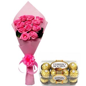 Roses Bunch n chocolates
